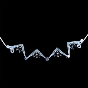 Stylish Two-Way Magnetic Star of Bethlehem Necklace - Jewelry - Bethlehem Handicrafts