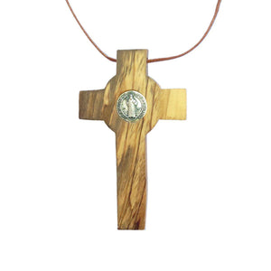 The Medal Crucifix of St. Benedict - Jewelry - Bethlehem Handicrafts