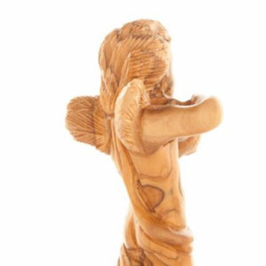 Hand Carved Angel - Statuettes - Bethlehem Handicrafts