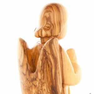 Wooden Praying Angel - Statuettes - Bethlehem Handicrafts