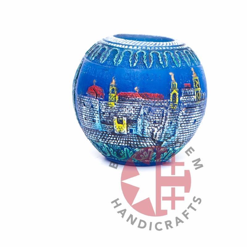 Church of The Nativity's Candle - Home & Office - Bethlehem Handicrafts