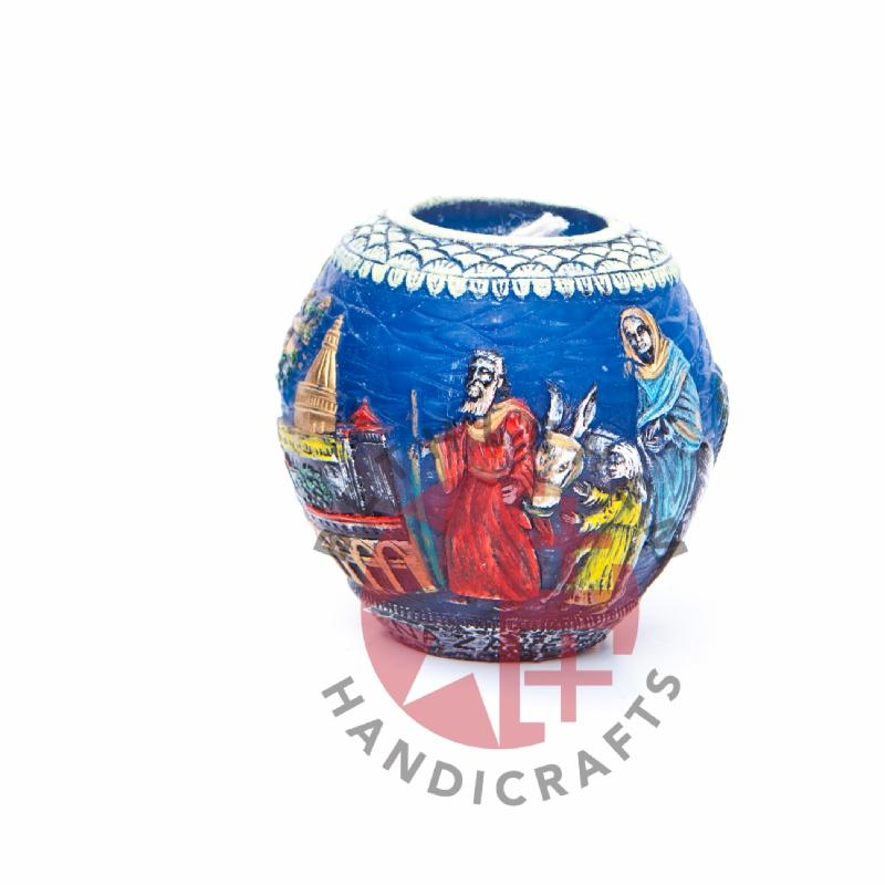 The Flight to Egypt's Candle - Home & Office - Bethlehem Handicrafts