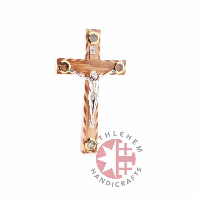 Wooden Carved Crucifix - Wall Hangings - Bethlehem Handicrafts