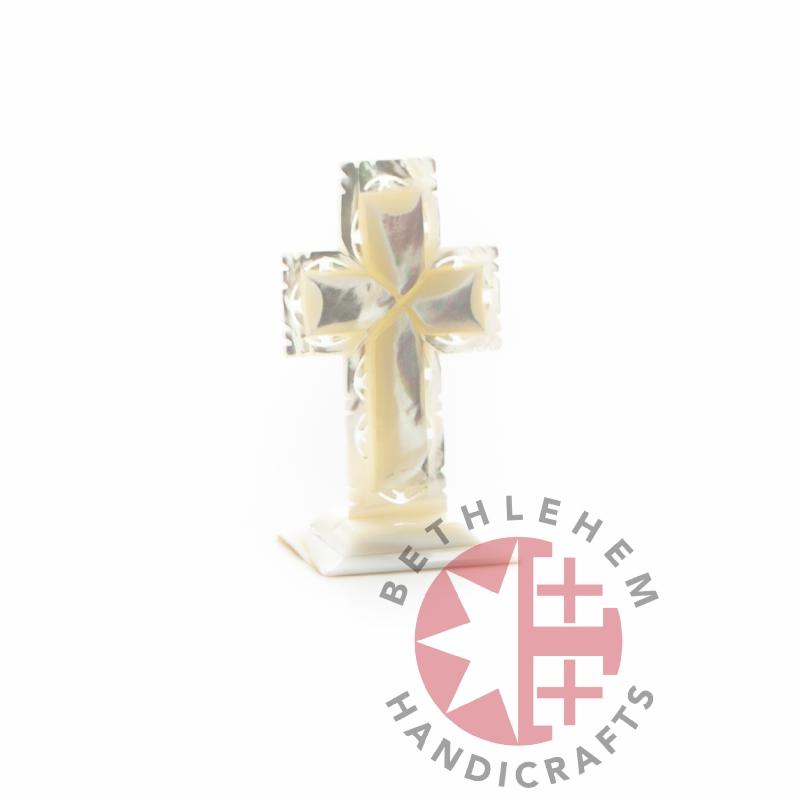 Mother Of Pearl Cross - Wall Hangings - Bethlehem Handicrafts
