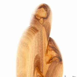 Olive Wood Figurine of the Holy Family - Statuettes - Bethlehem Handicrafts