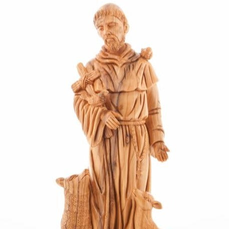 Saint Francis of Assisi: Patron of Animals Statue - Specialty - Bethlehem Handicrafts