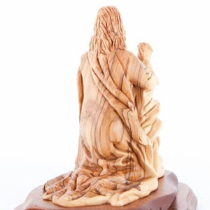 Hand Carved Agony In The Garden's Statue - Statuettes - Bethlehem Handicrafts