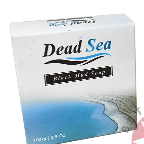 Olive Oil Soap Bar with 'Dead Sea Purifying Black Mud'