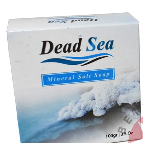 Olive Oil Soap Bar with 'Dead Sea Moisturizing Mineral Salt'