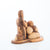Abstract Carved Wooden Agony In The Garden's Statue - Statuettes - Bethlehem Handicrafts