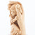 Protected by the Hand of God with Baby Girl Olive Wood Statue - Statuettes - Bethlehem Handicrafts