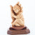 Protected by the Hand of God with Baby Boy Olive Wood Statue - Statuettes - Bethlehem Handicrafts