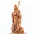 Carved Wooden Statue of The Good Shepherd - Statuettes - Bethlehem Handicrafts