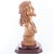 Carved Olive Wood Bust of Jesus' Head - Statuettes - Bethlehem Handicrafts