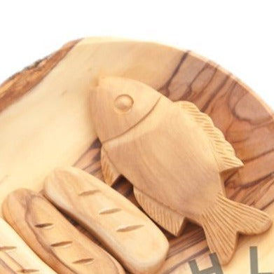 Wooden Tabgha - Statuettes - Bethlehem Handicrafts