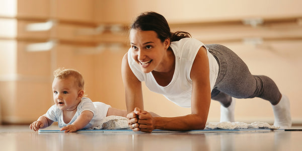 How to exercise when you have kids