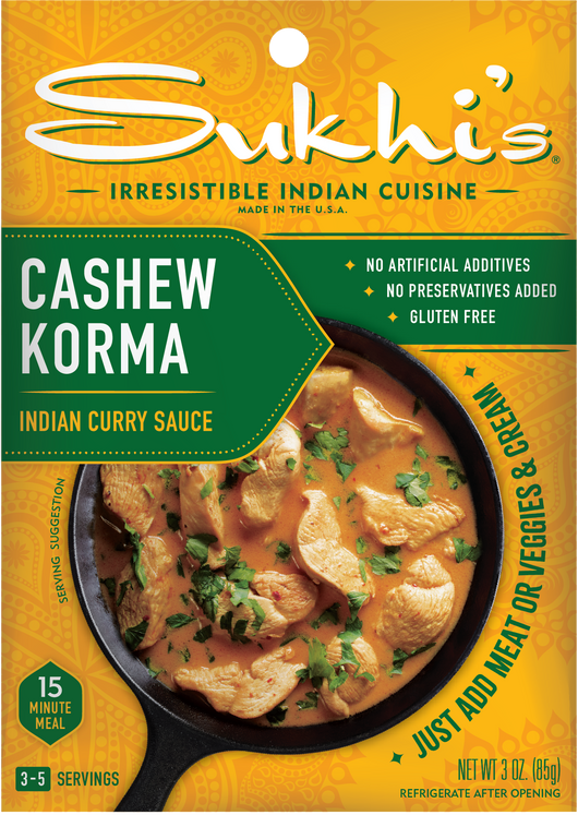 Cashew Korma Indian Curry Sauce