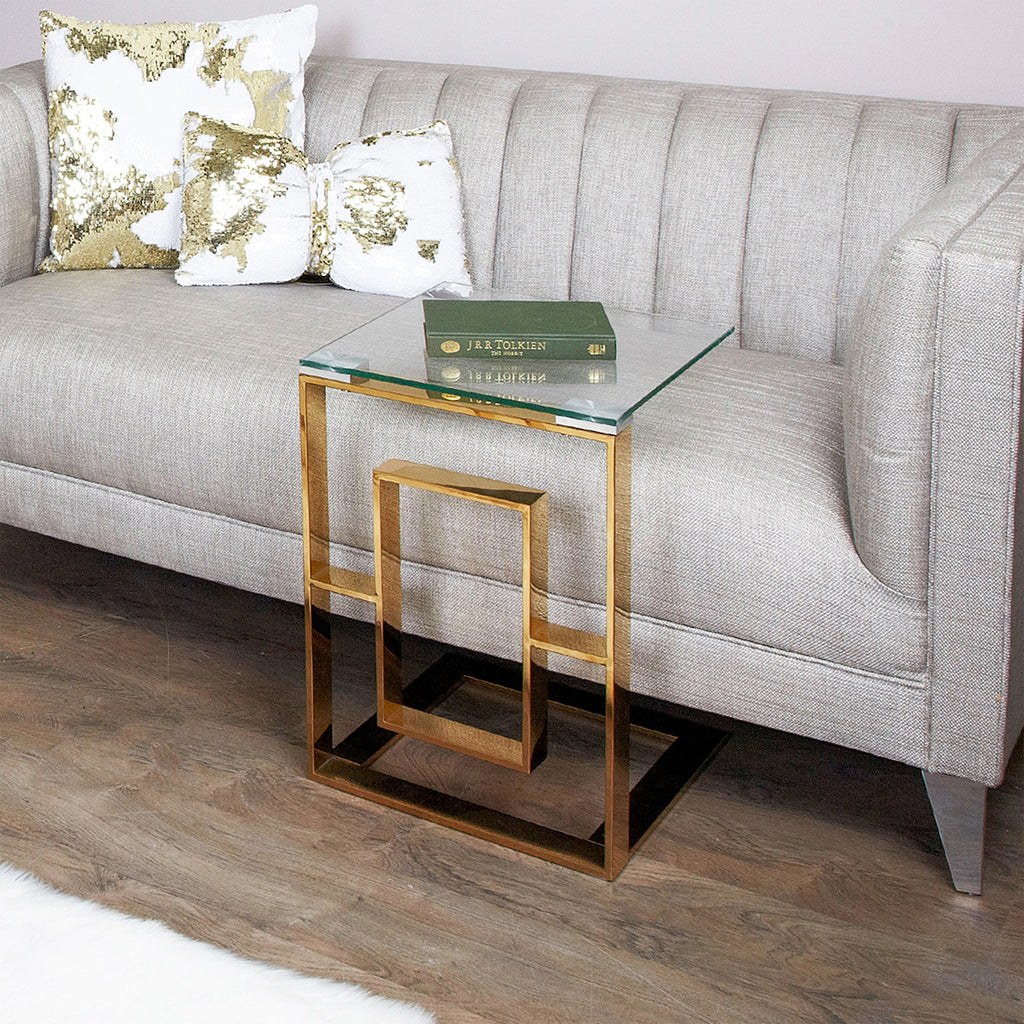Verona Gold - Sofa table - VANITY LIVING