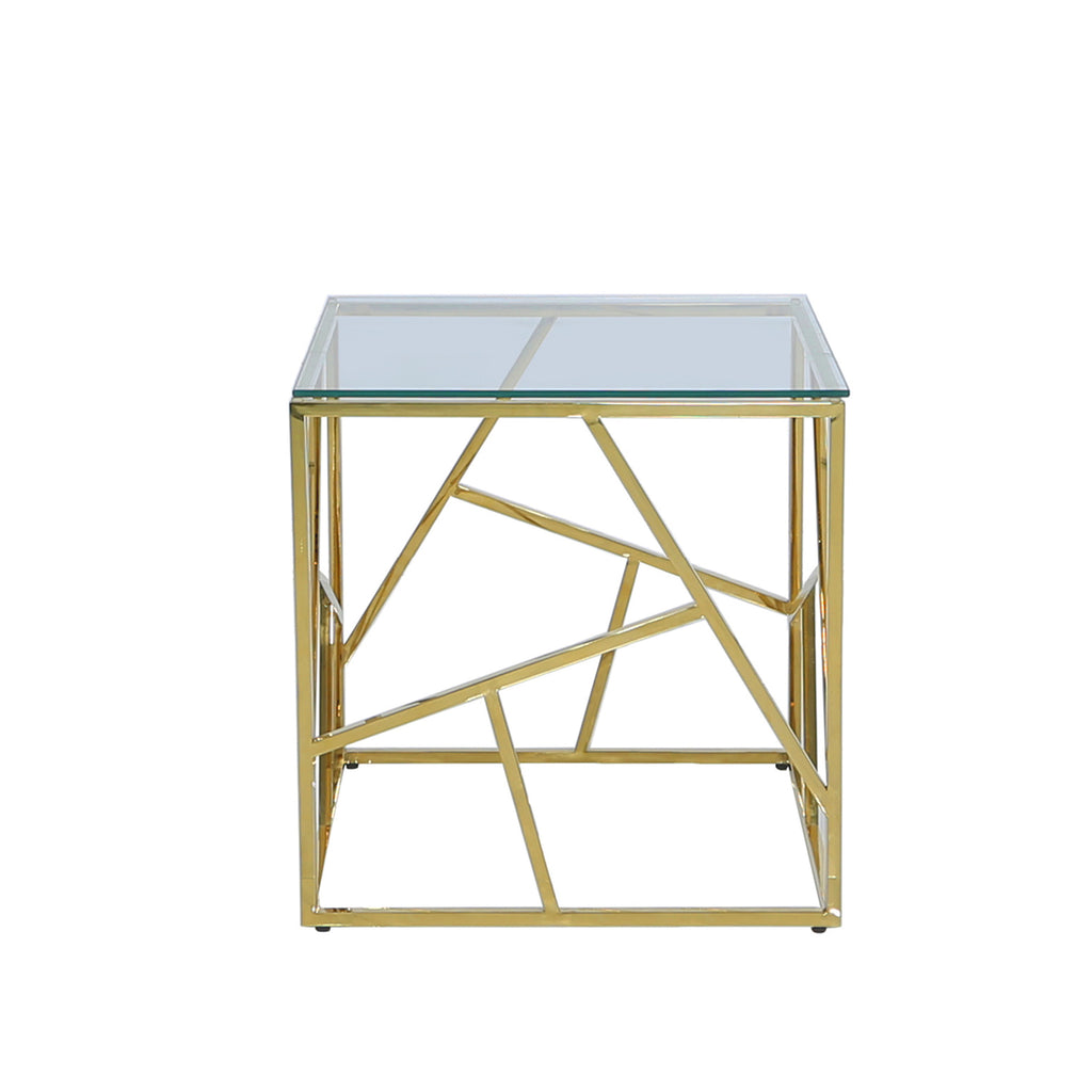 Roma Gold  - 2 Side Tables - VANITY LIVING