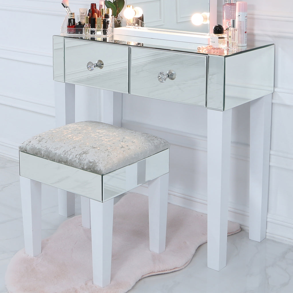 Mirror with lights dressing table coffee table console table dining table side table end table sofa table serving trolley vanity living dubai uae