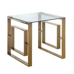 Verona Gold - 2 Side Tables + 1 Coffee Table