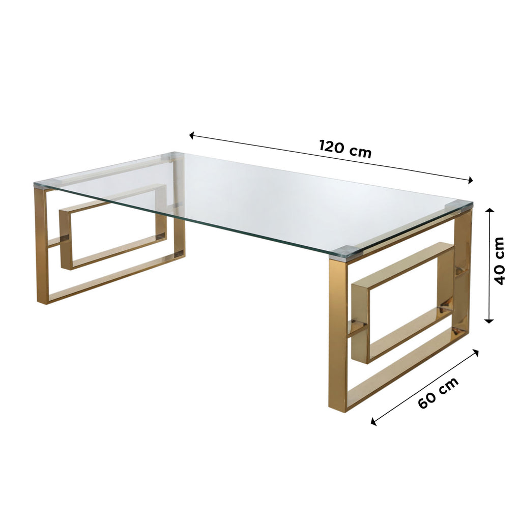 Verona Gold - Coffee Table - VANITY LIVING