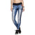 Legging Jeans Athletic Estampado Techno Azul Live