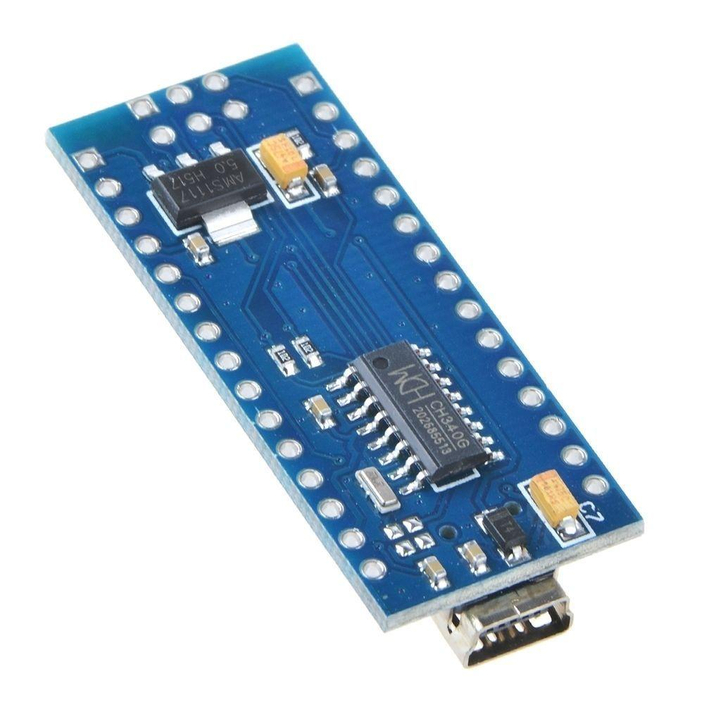 Nano V3.0 ATmega328PB Compatible Microcontroller Board for Arduino Mini USB Cable Unsoldered + Header pins - eElectronicParts