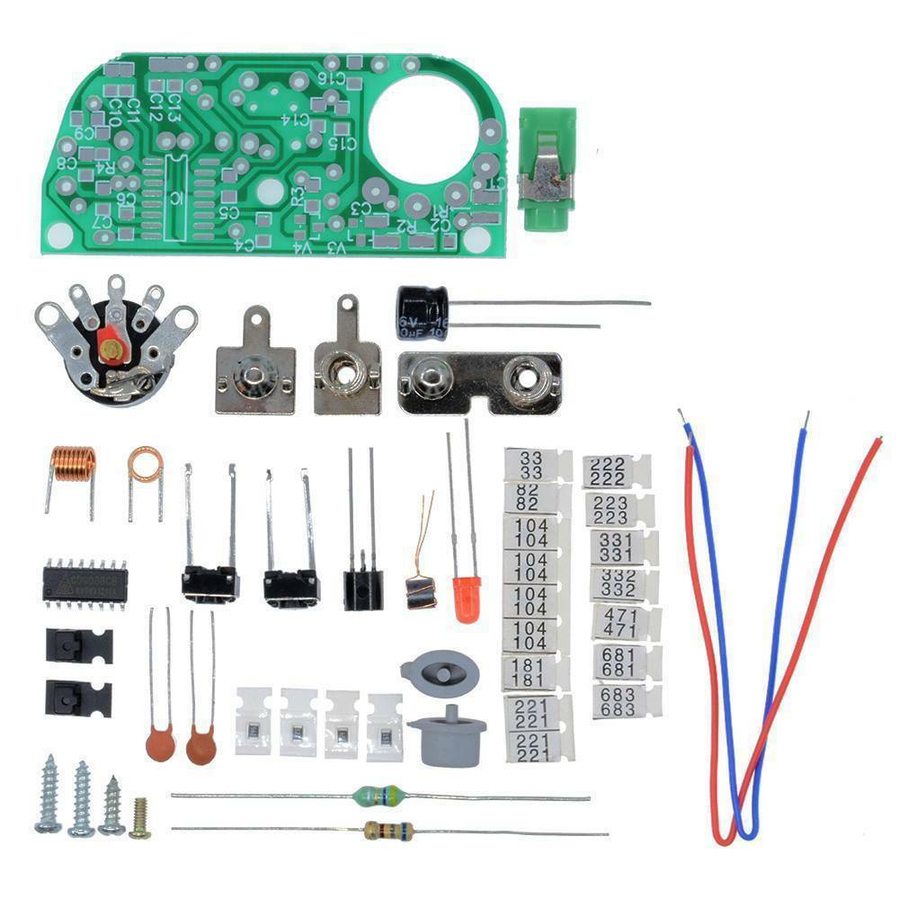 DIY Kit HX3208 FM Radio Frequency Modulation Micro SMD Kit 1.8V-3.5V - eElectronicParts