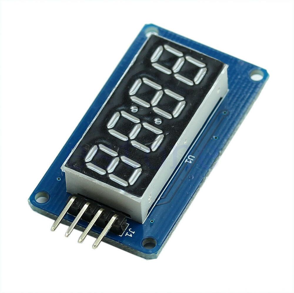 2pcs 4 Bits TM1637 Digital Tube LED Clock Display Module Arduino Due UNO 2560 - eElectronicParts