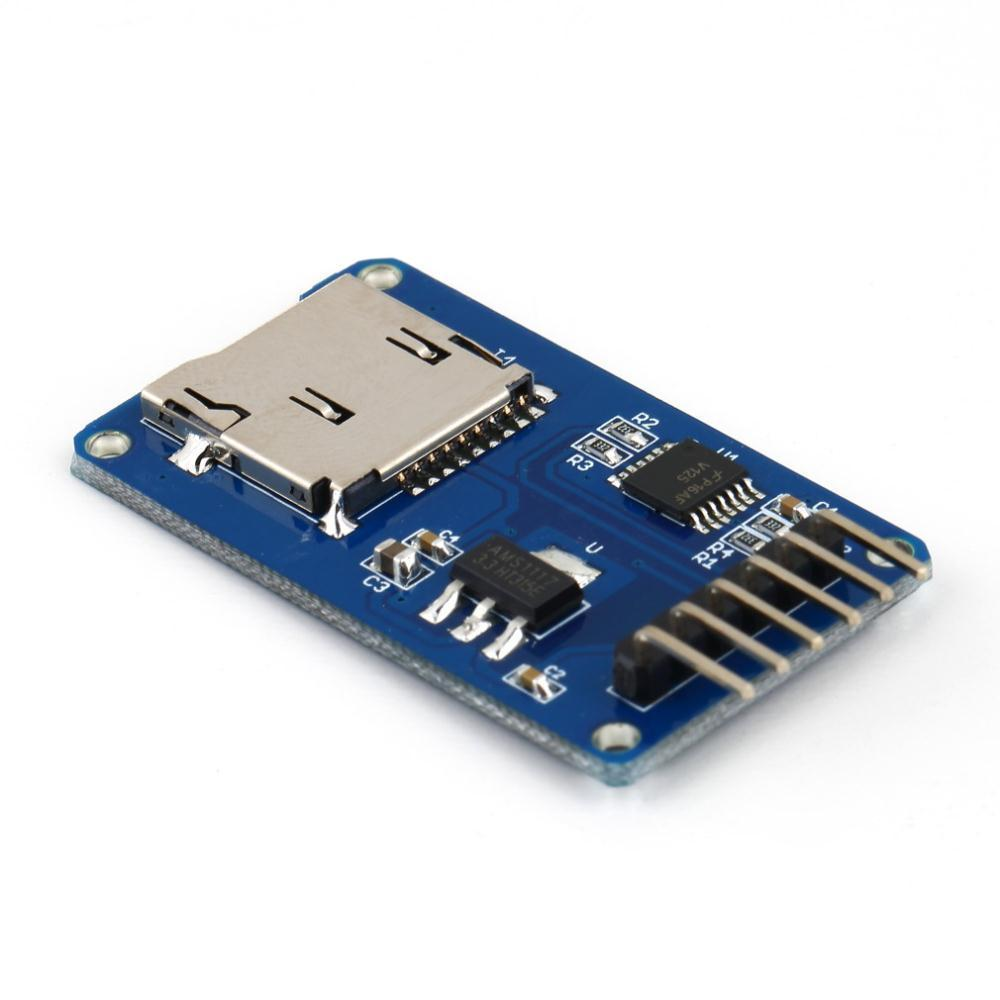 1 x Micro SD Storage Board Micro SD TF Card Memory Shield Module SPI For Arduino - eElectronicParts