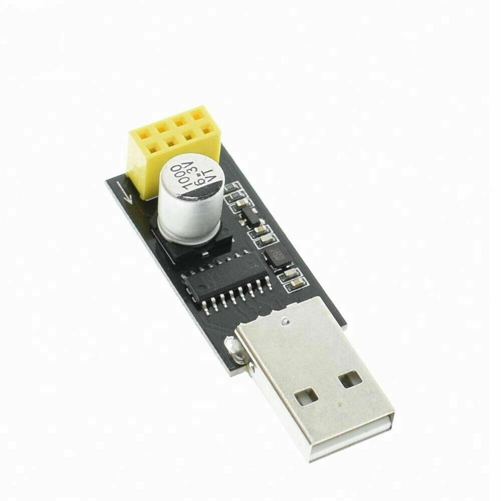 ESP-01 ESP8266 Module + USB Serial Adapter TTL Wifi CH340G Wireless Arduino USA - eElectronicParts