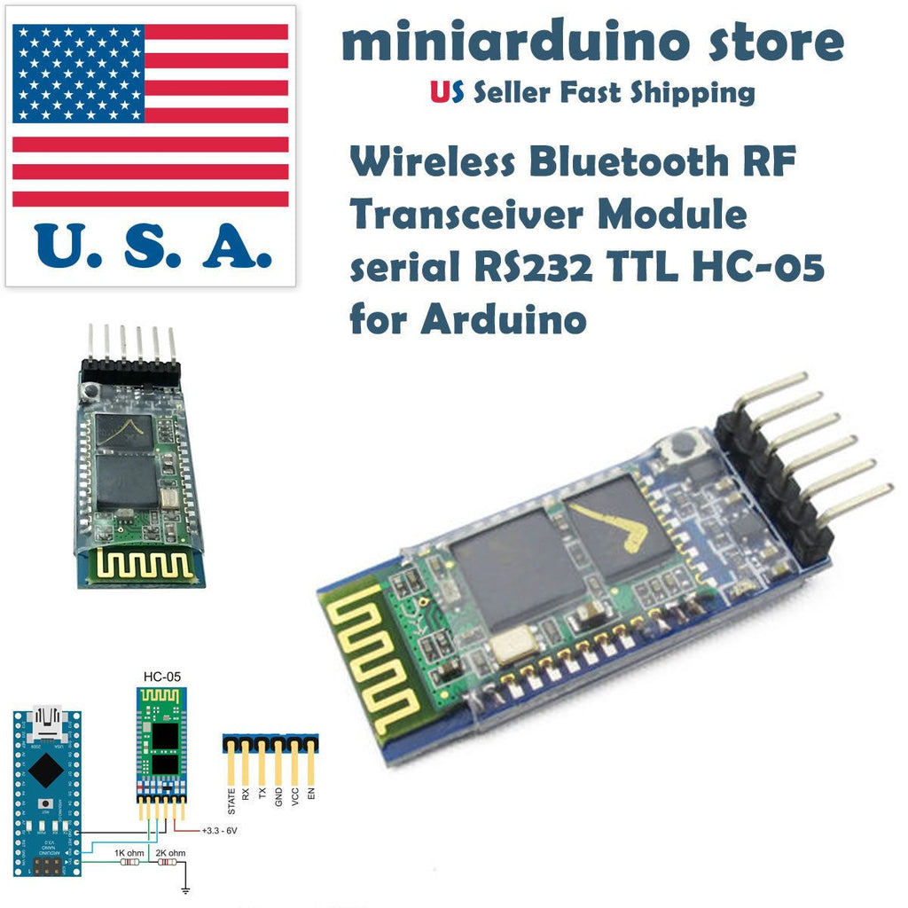 HC-05 Wireless Bluetooth RF Transceiver Module JY-MCU anti-reverse For Arduino - eElectronicParts