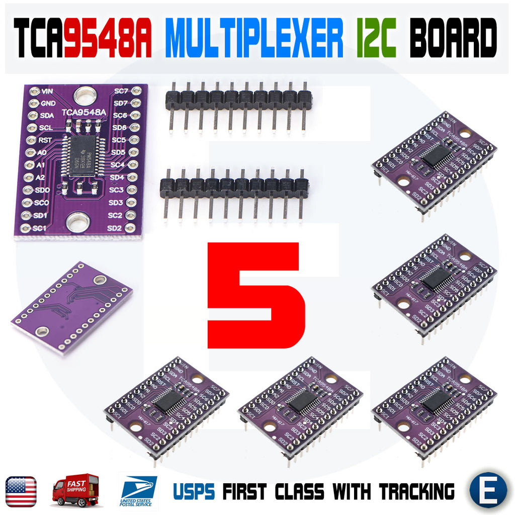 5pcs TCA9548A CJMCU-9548 I2C IIC Multiplexer 1-to-8 Channel Expansion Board