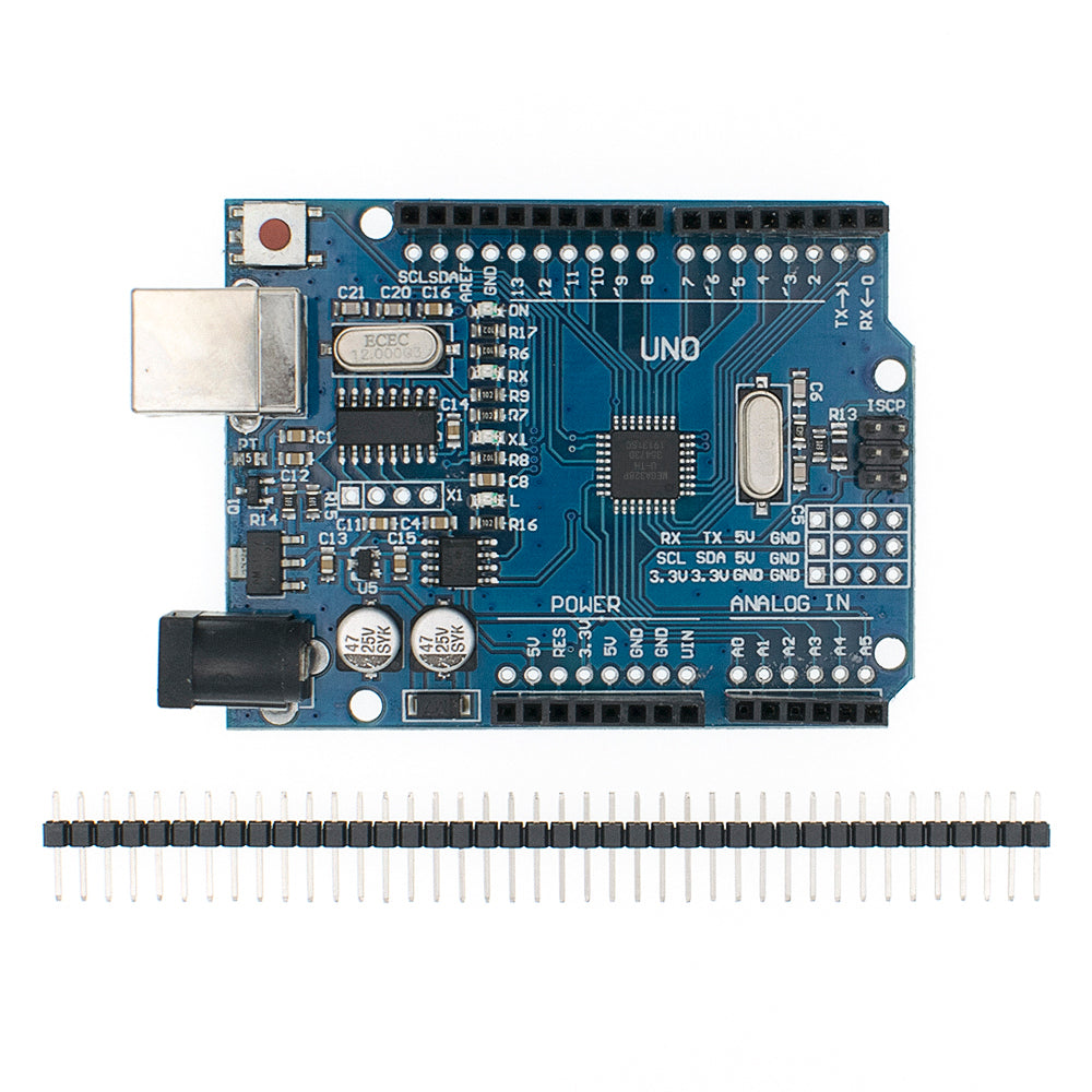 Arduino UNO R3 CH340G compatible ATMEGA328P New version with bootloader - eElectronicParts