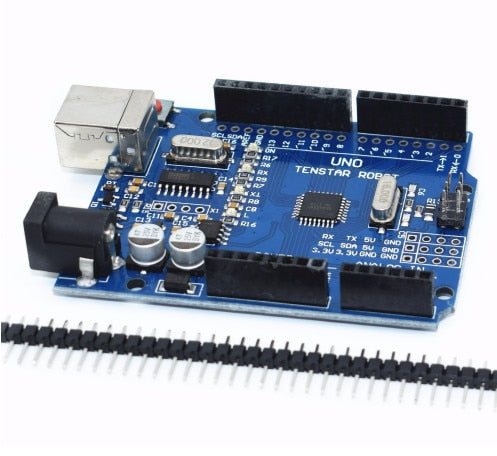 Arduino UNO R3 CH340G compatible ATMEGA328P 9V 1A Power Supply New version - eElectronicParts