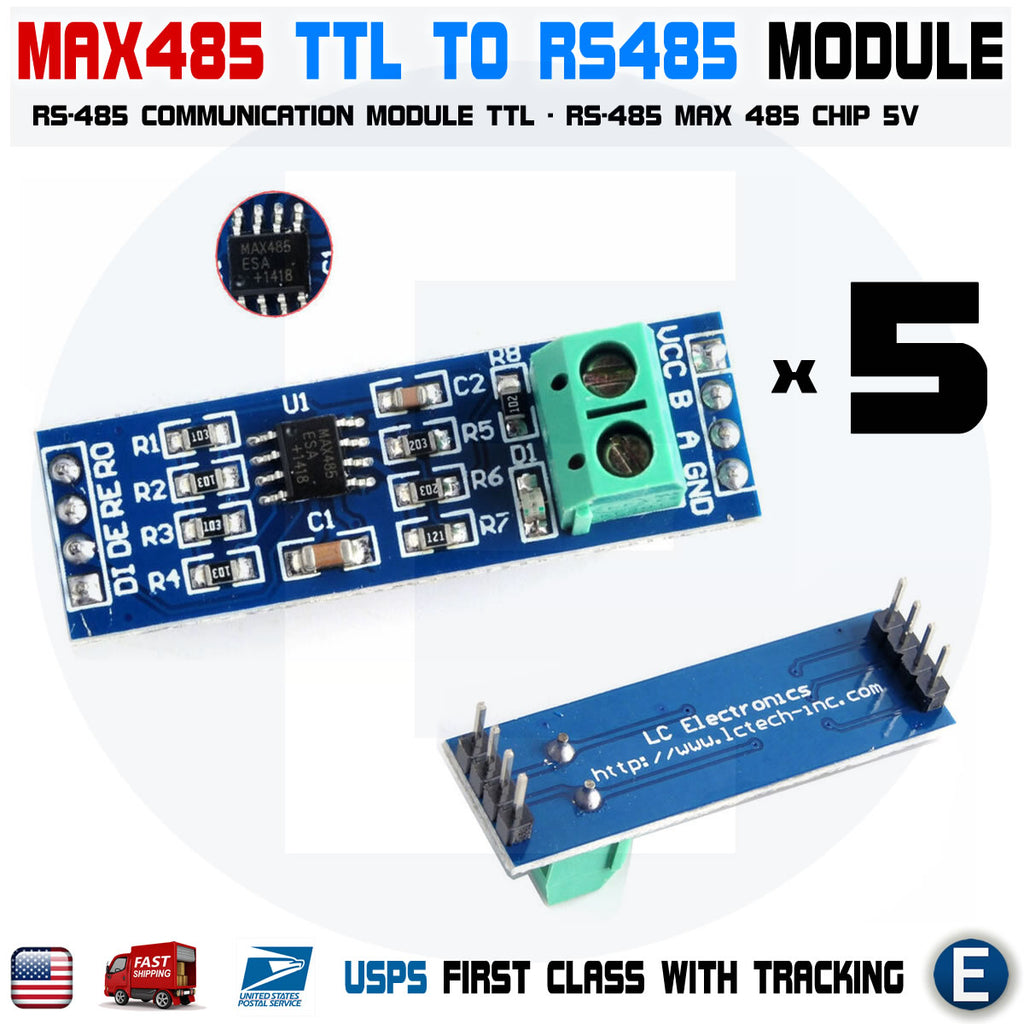 MAX485 RS-485 Converter TTL to RS-485 module for Arduino Raspberry pi - eElectronicParts