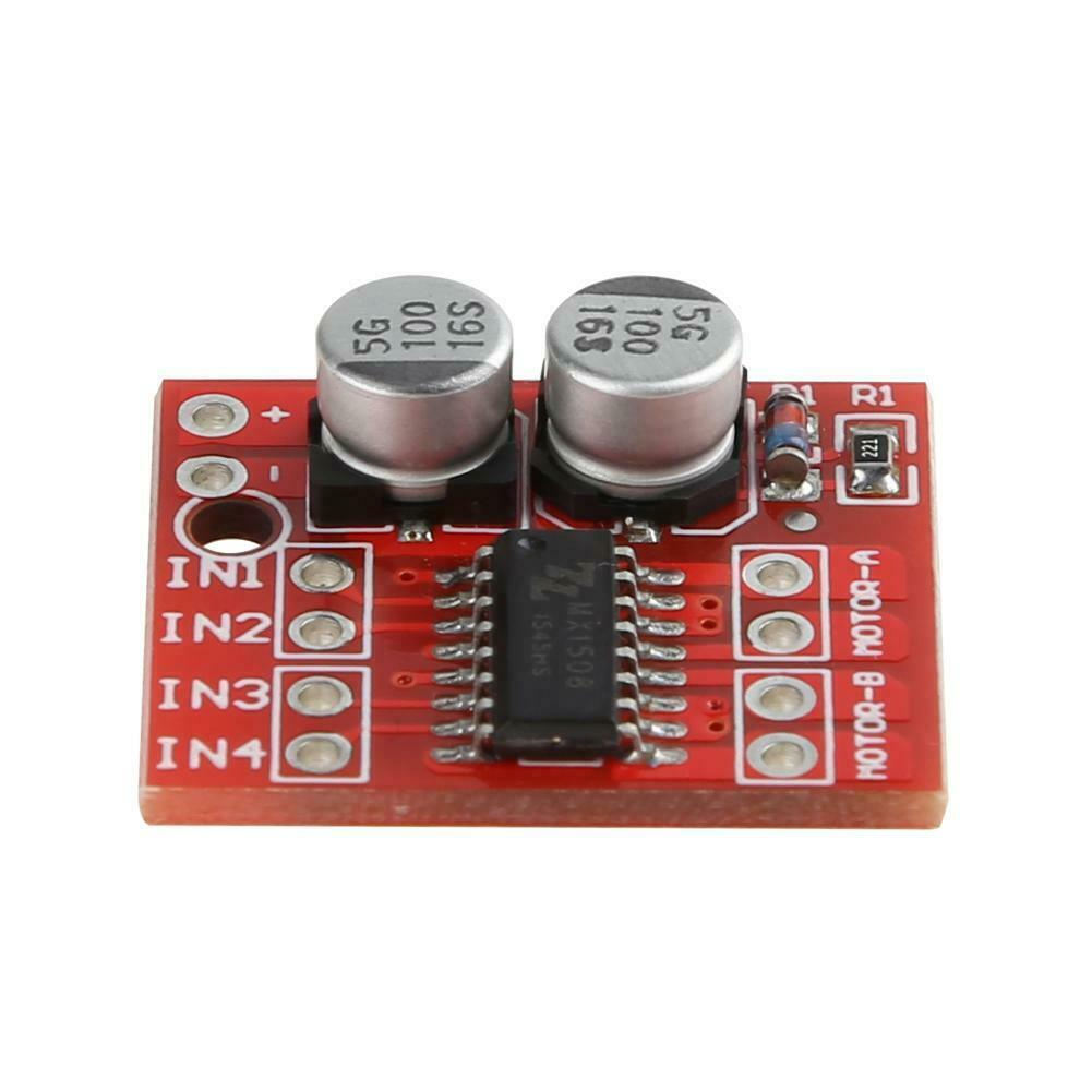 Mini MX1508 2 Way 1.5A PWM Speed Dual H Bridge DC Motor Drive Module L298N