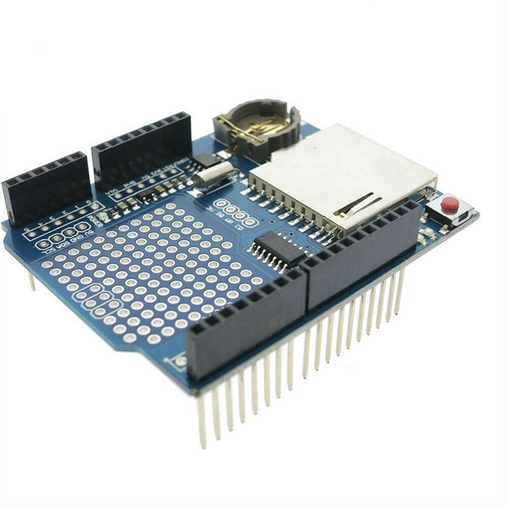 Recorder Data Logger Module Logging Shield XD-05 For Arduino UNO SD Card + Battery - eElectronicParts