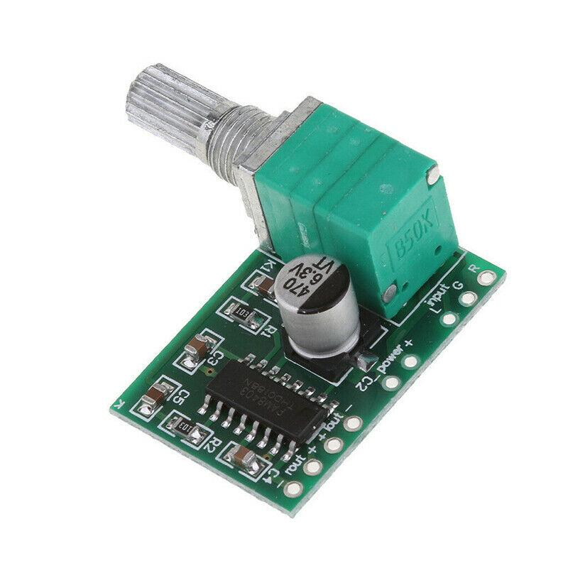 PAM8403 3W Stereo Audio Power Amplifier Board Module with Volume Control Pot - eElectronicParts