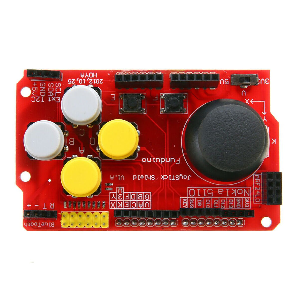 Joystick Shield for Arduino Expansion Board Analog Keyboard and Mouse Function Joystick Shield V1.2 - eElectronicParts
