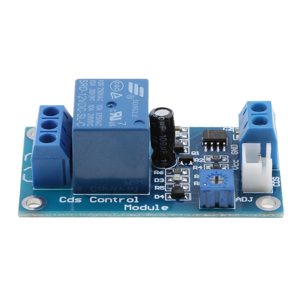 XH-M131 DC 12V Light Control Switch Photoresistor Relay Automatic Control Module