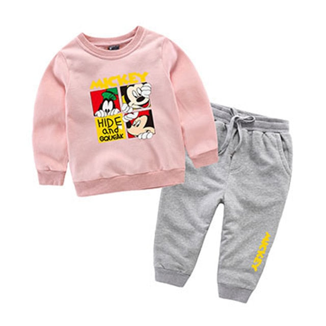 Toddler Boys Costume For Girls Clothing Sets Spring Autumn Kids Outfits T-shirt+Pants 3pcs Tracksuit Children Clothes Sport Suit