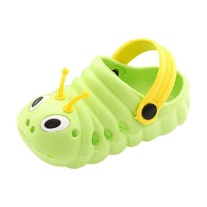 Summer Toddler Baby Boys Girls Cute Caterpillar Beach Slippers Flip Shoes kawaii Newborn Baby Shoes Beach