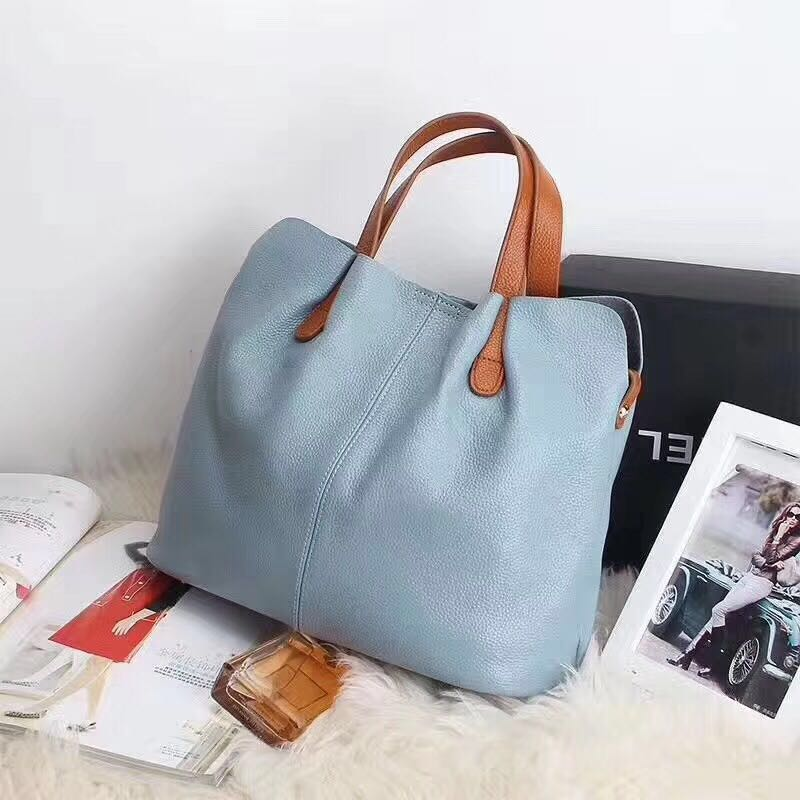 Fashion women's leather bags in 2019, original high-end Korean goods hanging ladies'travel shopping bags M......................