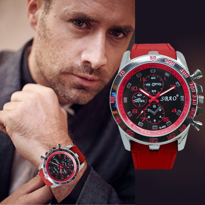 Mens Sports Watches Relogio Masculino 2018 Hot Sale Men Silicone Strap Quartz Watch Reloj S Shockproof Electronic Wristwatch