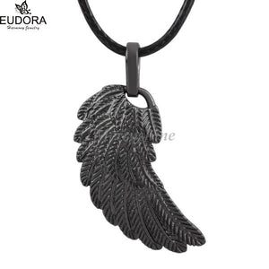 Black Gunmetal Baby Wing Pendant Fashion Feature Pendant for Eudora Harmony Bola Ball 2018 NEW Arrival Jewerly