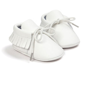 Spring Baby Shoes PU Leather Girls Shoes for Girls Baby Booties Baby Moccasins Fashion Fringe First Walks 0-18M 10 Colors