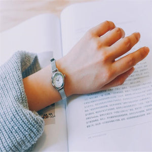 women watches Quartz Wrist Small Dial Delicate Watch Luxury Business Watches