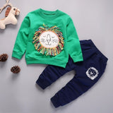 Spring Autumn Children Clothing Boys Cartoon Casual Sports